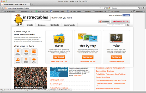 Joined The Instructables Website 188366 Ive Never Done That