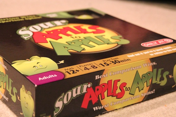 Played Sour Apples To Apples 52366